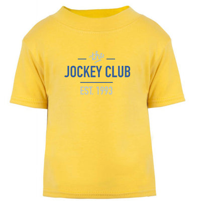 Jockey Club The Jockey Club Est 1993 Blue Text Baby T-Shirt-Jockey Club Salinas Ibiza Store