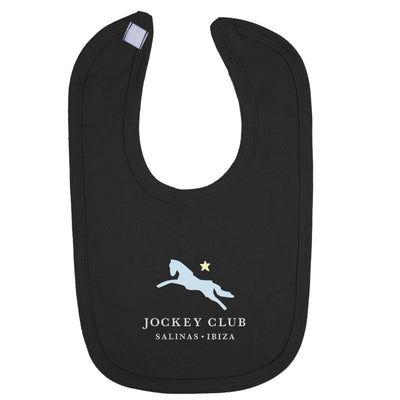 Jockey Club Salinas Ibiza Light Blue And Yellow Logo Velcro Bib-Jockey Club Salinas Ibiza Store