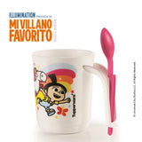 Fluffy Taza con Cucharita 350 ml