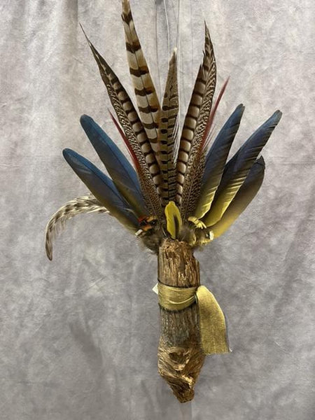 Spirit Wand #29 MIxed Media Wall Sculpture