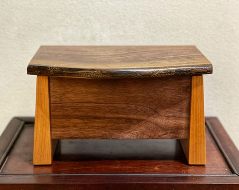 Walnut and Cherry Large Jewelry Box BGB008