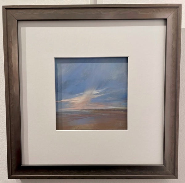 Pastel Study - Original Pastel Painting with Matte/Framed