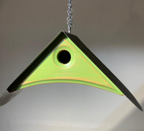 Green Falcon Birdhouse