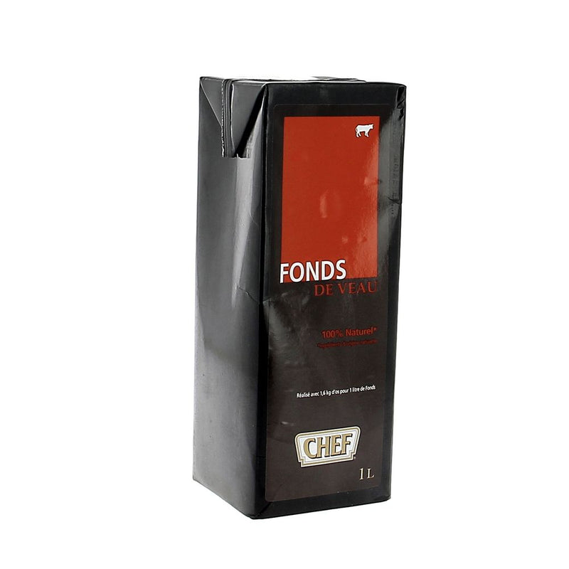 Fonds de veau naturel - 1l