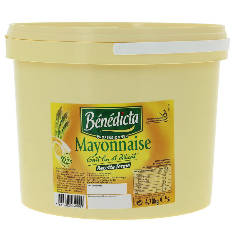 Mayonnaise naturel - 5l