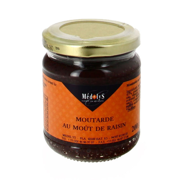 Moutarde de moût de raisin - 200g