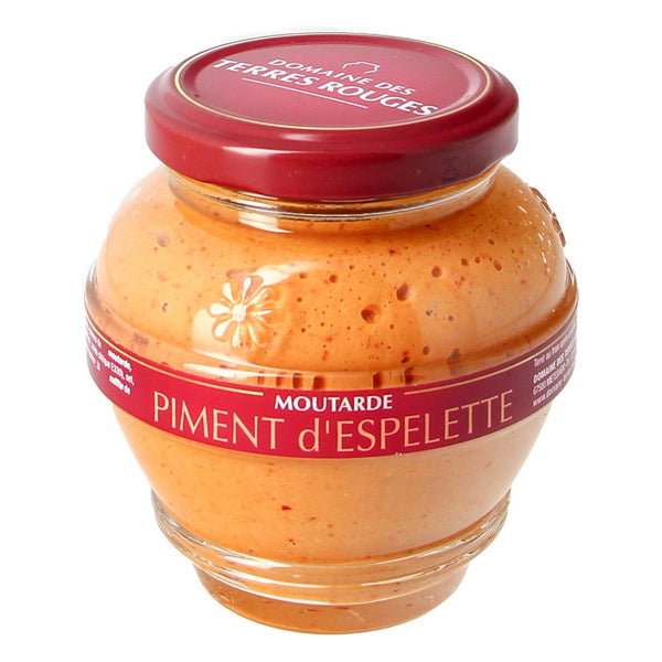 Moutarde au piment d'Espelette - 200g