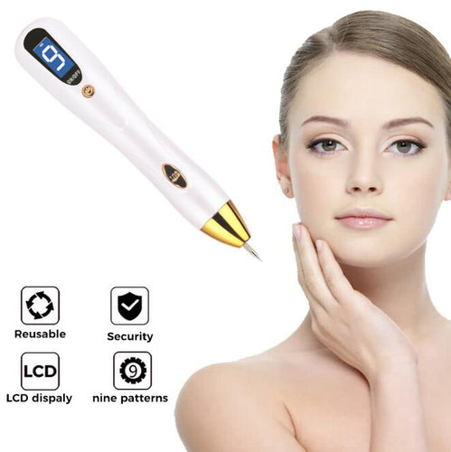 Mole Tattoo Freckle Removal LCD Pen