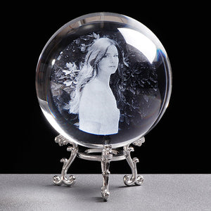 Customized Crystal Photo Ball Picture