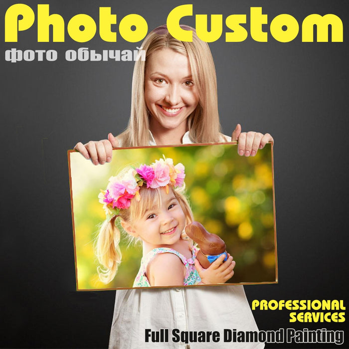 Customized Photo Custom Diamond Painting