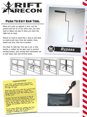 Access Prohibited: Push to Exit Tool