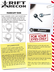Access Prohibited: Handcuff Shims