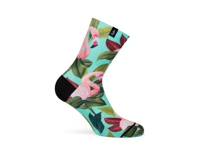 Pacific and Co - Socks Flamingo (Womens) - love-cycling-tech