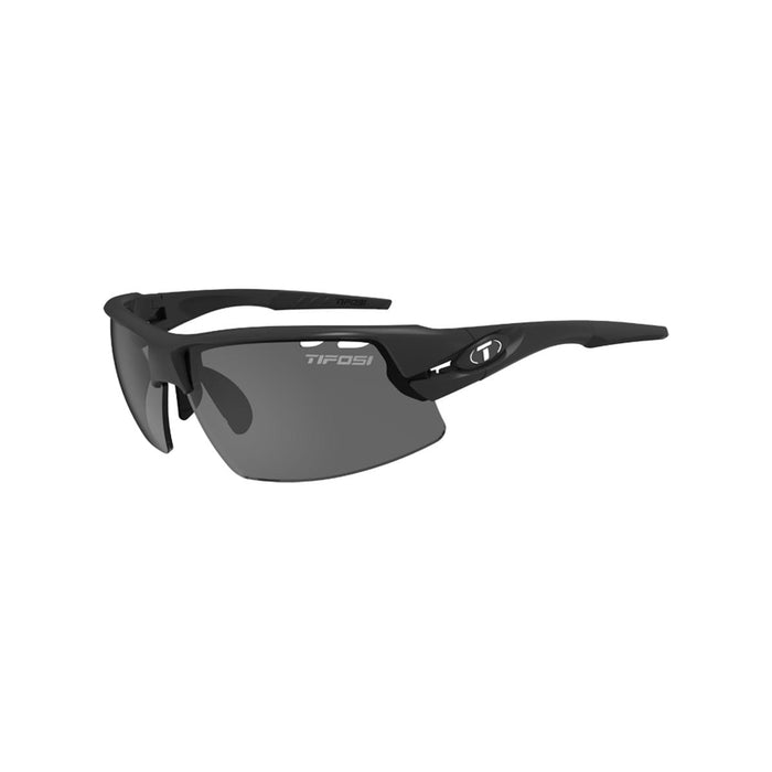 Tifosi Crit Half Frame Matt Black Sunglasses - love-cycling-tech