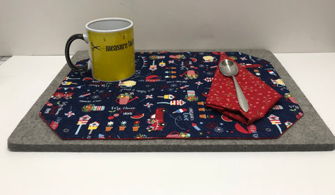 Beveled Placemat