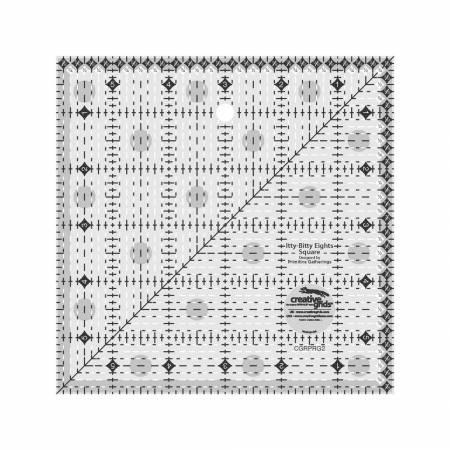 "Creative Grids Itty-Bitty Eights 6"" Ruler"