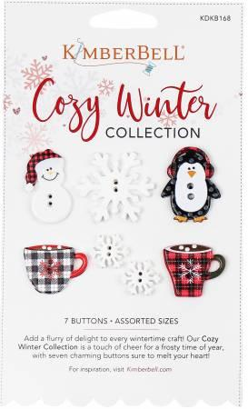 Cozy Winter Collection Buttons