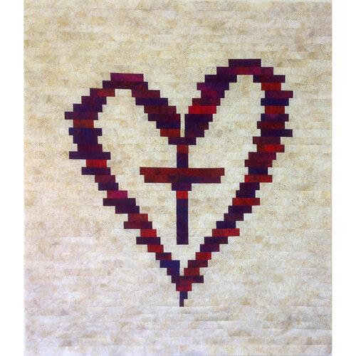 Cross Your  Heart Pattern by Michelle Watts
