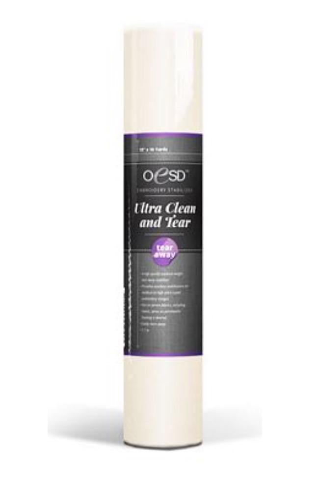 "OESD Ultra Clean & Tear 1.7oz 10"" x 10yd"