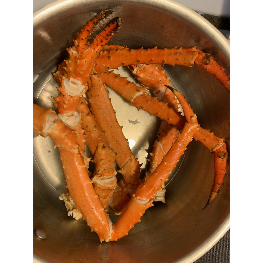 Golden King Crab Box - Pacific Cloud Seafoods