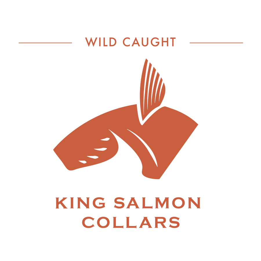 King Salmon Collars pos AFF - Pacific Cloud Seafoods