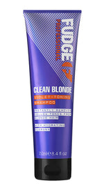 Fudge Clean Blonde Violet Toning Zilver Shampoo