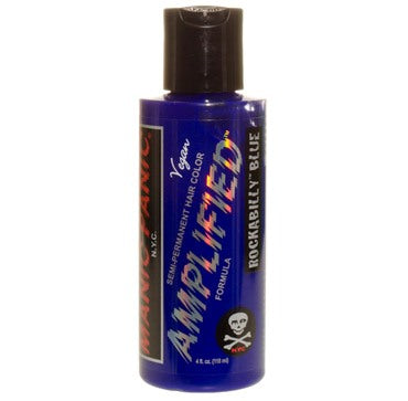 Manic Panic Amplified Hair Colour Rockabilly Blue 118ml