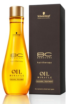 Schwarzkopf BC Oil Miracle Gold Finishing Treatment Dik haar 100ml