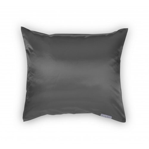 Beauty Pillow Satijnen Kussensloop Antraciet