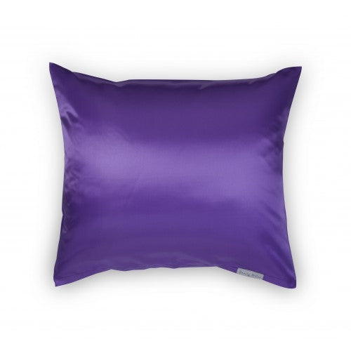 Beauty Pillow Satijnen Kussensloop Aubergine