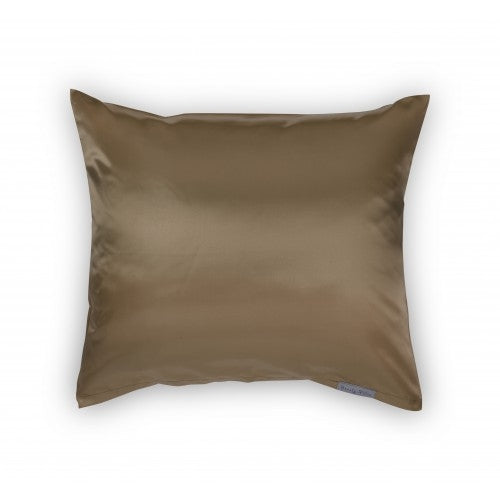 Beauty Pillow Satijnen Kussensloop Taupe