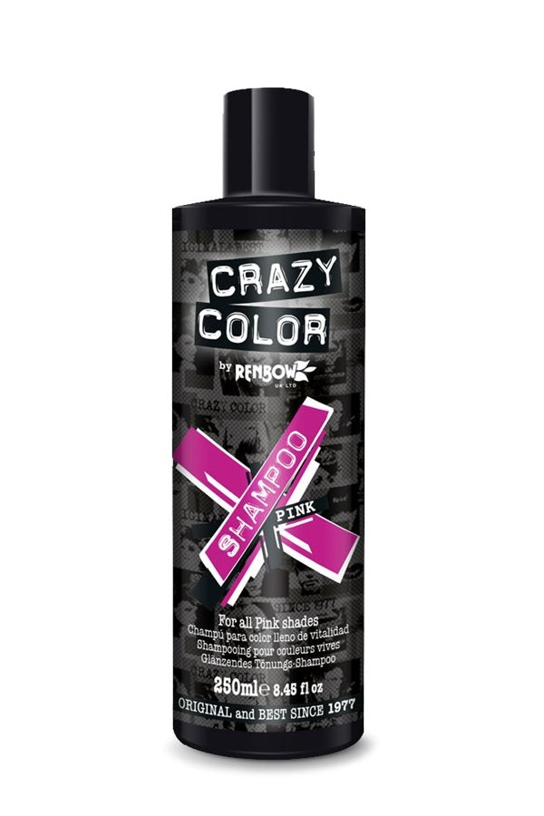 Crazy Color Care Shampoo Pink 250ml