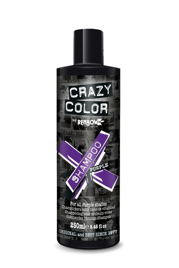 Crazy Color Care Shampoo Purple 250ml