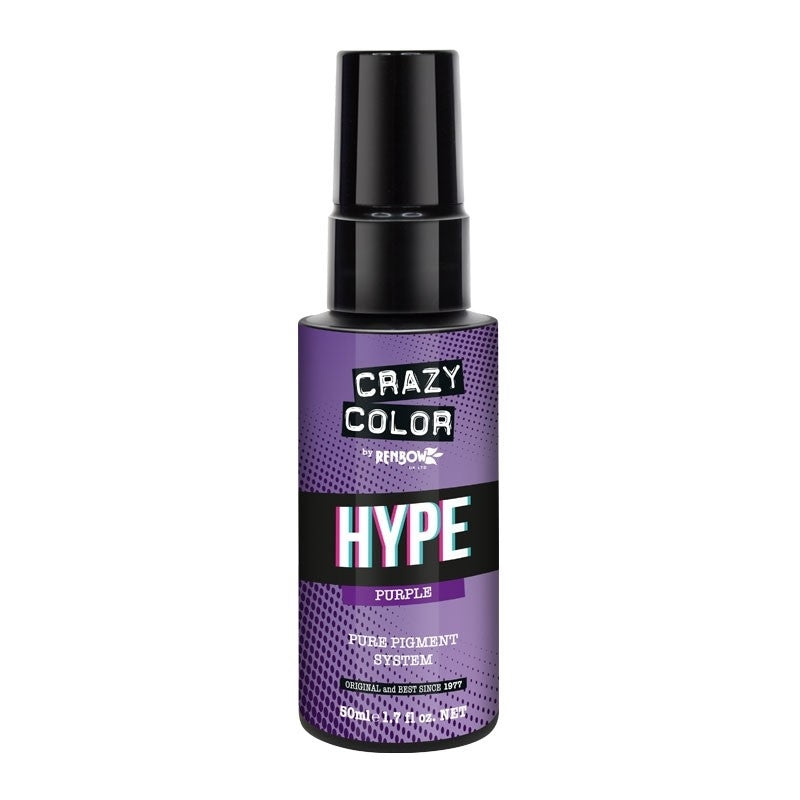Crazy Color Hype Pure Pigments Drops Purple 50ml