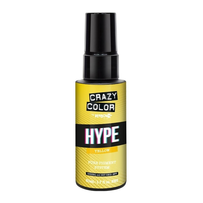 Crazy Color Hype Pure Pigments Drops Yellow 50ml