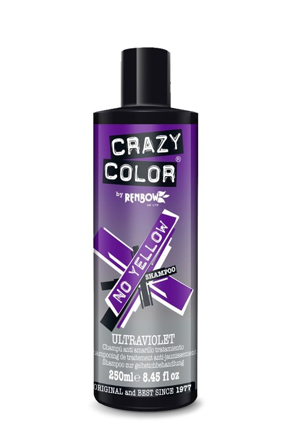 Crazy Color NO YELLOW Shampoo 250ml