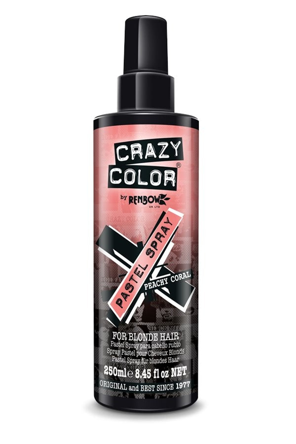 Crazy Color Pastel Spray Peachy Coral 250ml