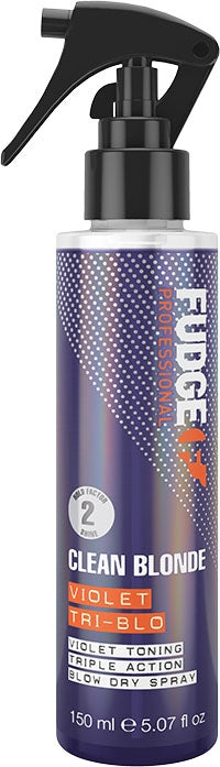 Fudge Style Clean Blonde Violet Tri-Blo 150ml