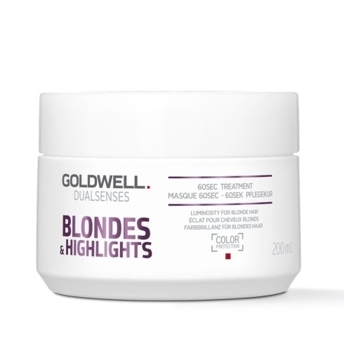 Laad afbeelden in Gallery viewer, Goldwell Dualsenses Blondes & Highlights 60sec Treatment 200ml