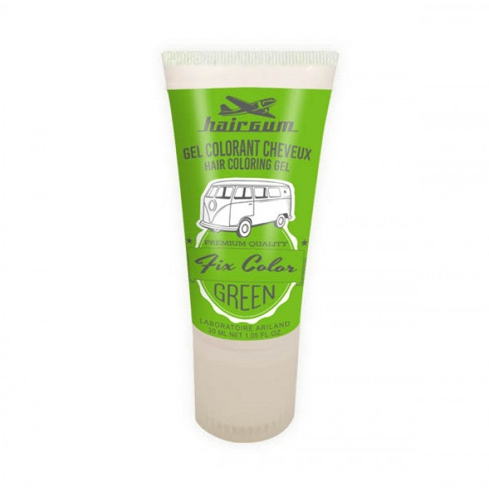HairGum Fix Color Coloring Gel Green 30ml