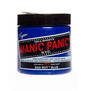 Laad afbeelden in Gallery viewer, Manic Panic High Voltage Hair Colour Bad Boy Blue 118ml