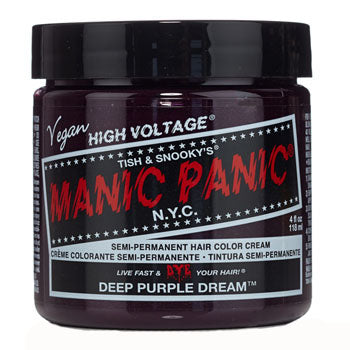 Manic Panic High Voltage Hair Colour Deep Purple Dream 118ml