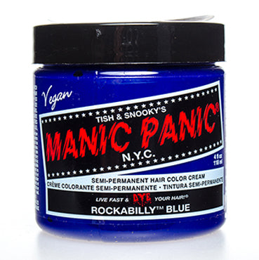 Manic Panic High Voltage Hair Colour Rockabilly Blue 118ml