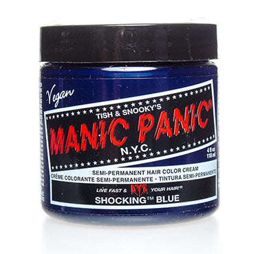 Laad afbeelden in Gallery viewer, Manic Panic High Voltage Hair Colour Shocking Blue 118ml