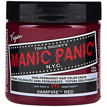 Manic Panic High Voltage Hair Colour Vampire Red 118ml