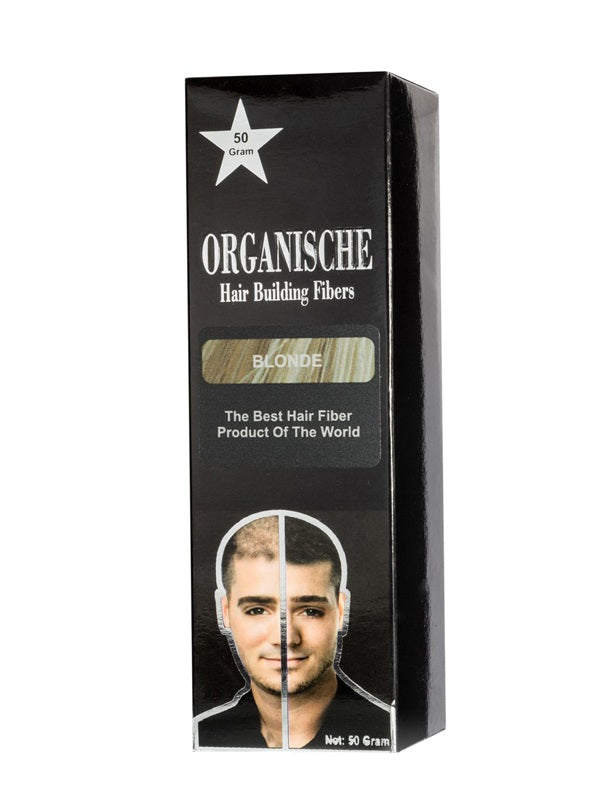 Laad afbeelden in Gallery viewer, Organische Hair Building Fibers Dark Blond 50gr