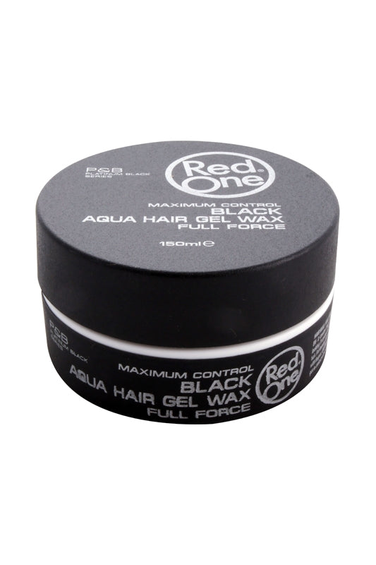Red One Black Aqua Hair Gel Wax 150ml