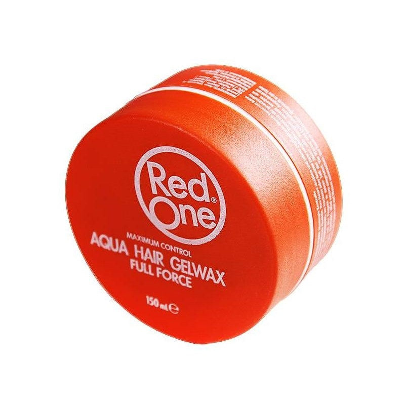 Red One Orange Aqua Hair Gel Wax 150ml