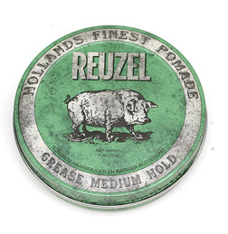 Reuzel Grease Medium Hold Pomade Groen