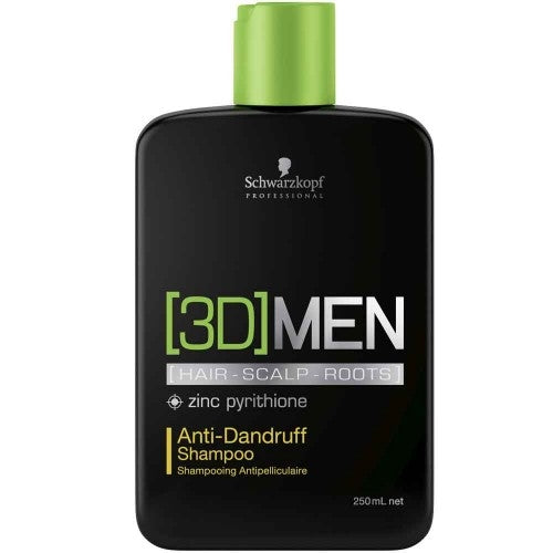 Schwarzkopf 3D Men Anti-Dandruff Shampoo 250ml